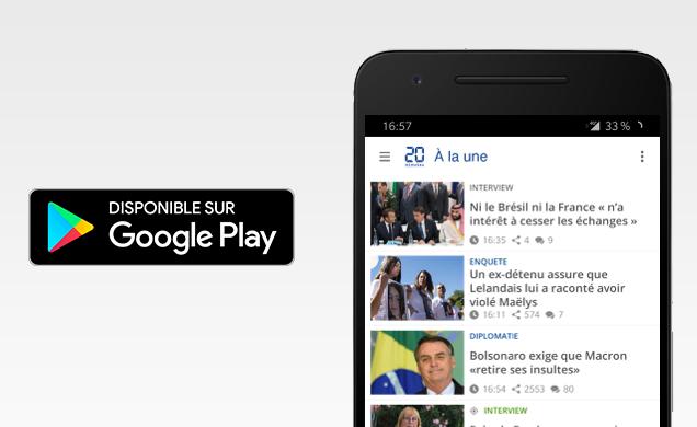 L'actualité sur Android