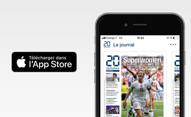 Le journal sur iPhone et iPad
